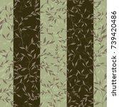 seamless floral pattern....   Shutterstock .eps vector #739420486