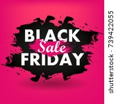 black friday sale | Shutterstock .eps vector #739422055