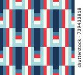 seamless abstract vector...   Shutterstock .eps vector #739433818