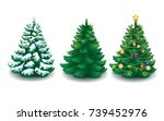 vector collection of cartoon... | Shutterstock .eps vector #739452976
