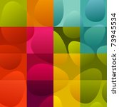 seamless multicolor easter eggs ... | Shutterstock .eps vector #73945534