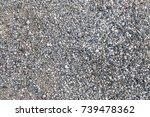 small stones texture  road ...   Shutterstock . vector #739478362