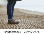 close up of female legs in the...   Shutterstock . vector #739479976