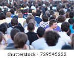 paris  france   june 12  2010   ... | Shutterstock . vector #739545322