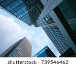 london office building... | Shutterstock . vector #739546462