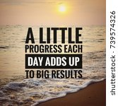 inspirational motivating quotes ...   Shutterstock . vector #739574326