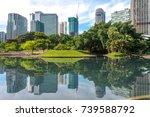 kuala lumpur  malaysia 12 sep... | Shutterstock . vector #739588792