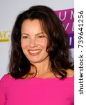 """Small photo of Fran Drescher arrives at the taping of """"Jump, Jive & Thrive"""" on Oct. 8, 2017 at UCLA's Pauley Pavilion in Los Angeles, CA."""