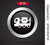 concrete mixer icon | Shutterstock .eps vector #739649902