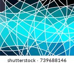 abstract geometric mosaic... | Shutterstock .eps vector #739688146