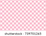 Pink Gingham Pattern. Texture...