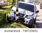 Nissan Pickup Truck Accident...