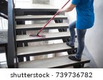cleaning service | Shutterstock . vector #739736782