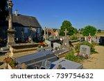 graye sur mer  france   july 18 ... | Shutterstock . vector #739754632