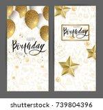 Happy Birthday Design.white An...