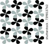 abstract patterns vector | Shutterstock .eps vector #739813762