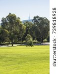 from australian war memorial to ... | Shutterstock . vector #739818928