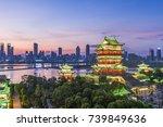 tengwang pavilion one of... | Shutterstock . vector #739849636