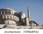 istanbul  turkey   october 11 ... | Shutterstock . vector #739868932