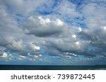 Loose Clouds Drifting Across...