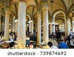 vienna  austria  november 20 ... | Shutterstock . vector #739874692