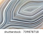 amazing banded agate crystal...   Shutterstock . vector #739878718