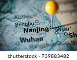 nanjing  china. | Shutterstock . vector #739883482