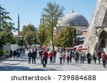 istanbul  turkey   october 11 ... | Shutterstock . vector #739884688