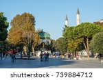 istanbul  turkey   october 11 ... | Shutterstock . vector #739884712