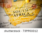 south africa. | Shutterstock . vector #739903312