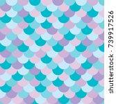 vector seamless multicolored... | Shutterstock .eps vector #739917526