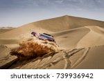 erfoud  morocco. october 9 ...   Shutterstock . vector #739936942