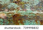 blue wood background. abstract... | Shutterstock . vector #739998832