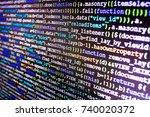 seo concepts for better serp.... | Shutterstock . vector #740020372