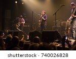 amsterdam  the netherlands   22 ... | Shutterstock . vector #740026828