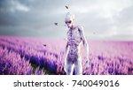 Alien With Butterflies In...