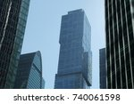 moscow  russia   august 13 ... | Shutterstock . vector #740061598