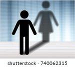 female. | Shutterstock . vector #740062315