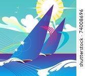 abstract illustration of...   Shutterstock . vector #74008696