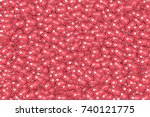 vector 3d social network... | Shutterstock .eps vector #740121775