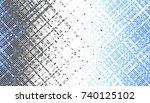 abstract digital fractal... | Shutterstock . vector #740125102