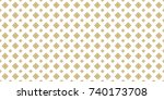 thai ancient pattern. vintage... | Shutterstock .eps vector #740173708