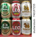 bangkok thailand   october 10 ...   Shutterstock . vector #740197255