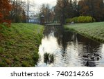 autumn morning in catherine... | Shutterstock . vector #740214265