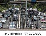 sao paulo  brazil  october 23 ... | Shutterstock . vector #740217106