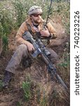 Small photo of US Army strikeball airsoft warrior