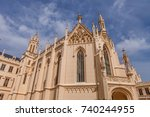 lednice castle in south moravia ... | Shutterstock . vector #740244955