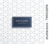 elegant minimal style pattern... | Shutterstock .eps vector #740410696