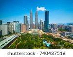 Landscape Of Kuala Lumpur...