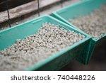 broiler chicken mixed feeder at ...   Shutterstock . vector #740448226